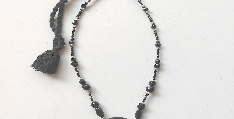 Bidri Braided Necklace
