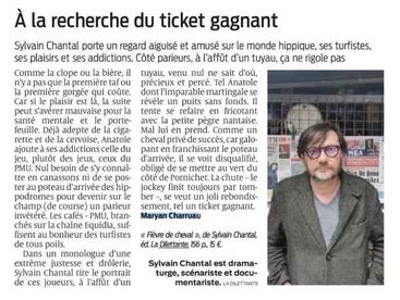 """""""À la recherche du ticket gagnant"""" (Sud Ouest)"""