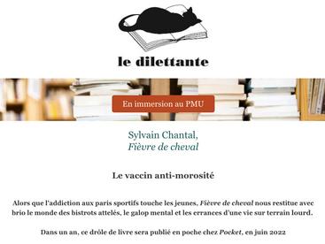 """""""Fièvre de cheval"""" édité chez Pocket en juin 2022"""