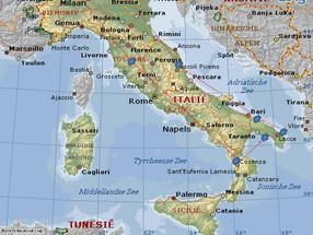 Van Montepulciano via Cosenza en het mooie Puglia naar Ascoli Piceno