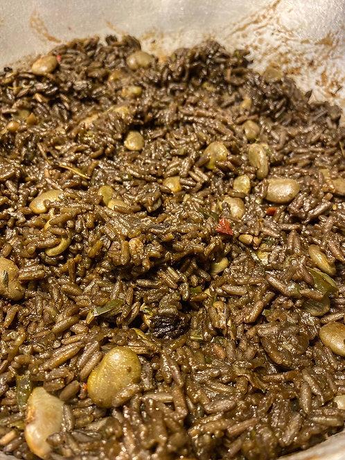 Haitian Mushroom Rice (Diri Djon Djon)