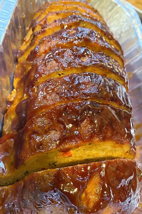 BBQ Turkey Meatloaf Dinner