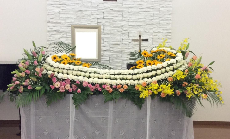 生花飾りプランH「旅立ち」