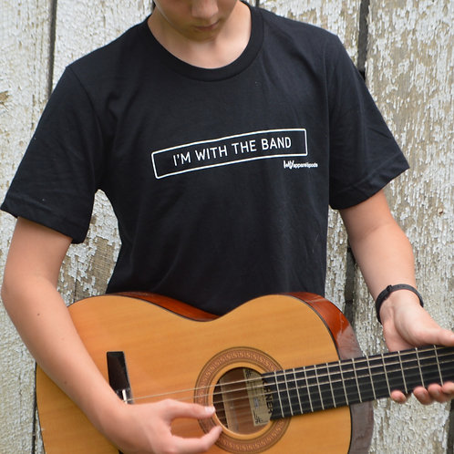 I'M WITH THE BAND unisex tee