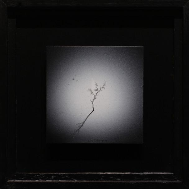 10x10cm, acryliconwood, 2016