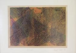 Zeynep Şahin 35x50cm linol baskı