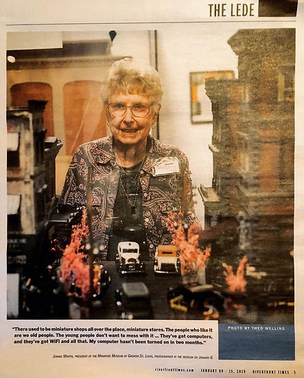 Photograph of Joanne Martin in the Riverfront Times