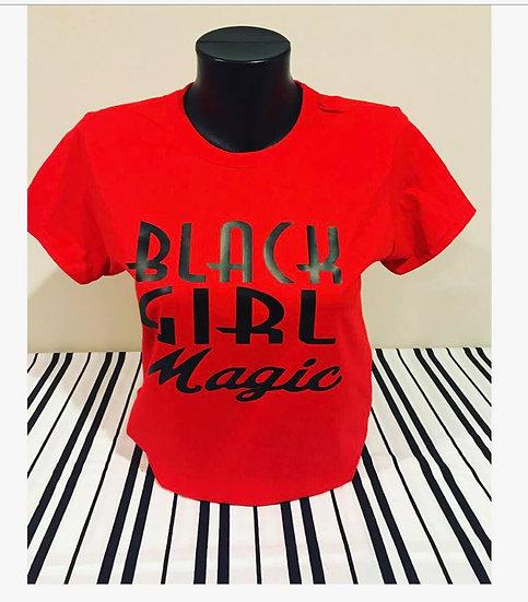 Black Girl Magic Red