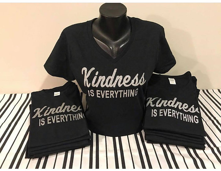 Kindness is Everything (Silver Glitter)
