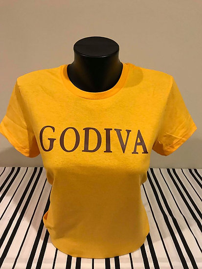 GODIVA Gold Fitted Tee
