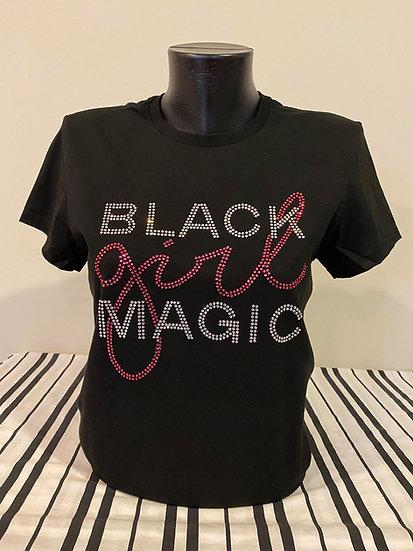 Black Girl Magic Rhinestone