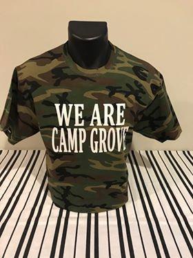 We Are Camp Grove Unisex Camo