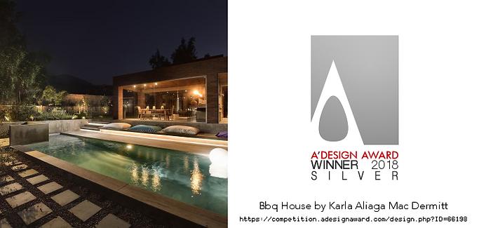 Ganador A'design Award 2018