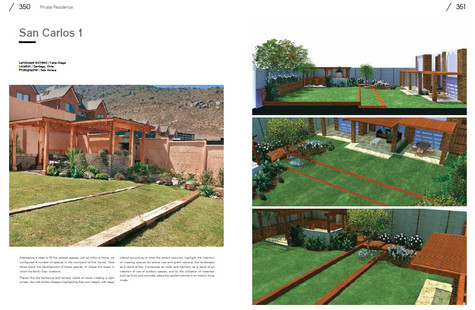 New Residential Landscape pag 350 y 351