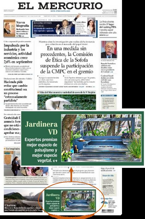 El Mercurio Nov 2015 Portada