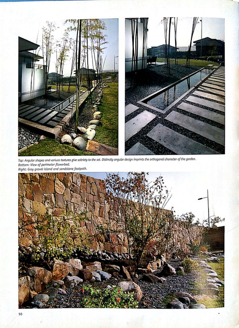 Waterscapes contemporary landscaping Pag 50