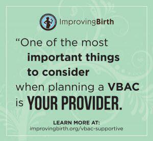 Is a homebirth VBAC safe?