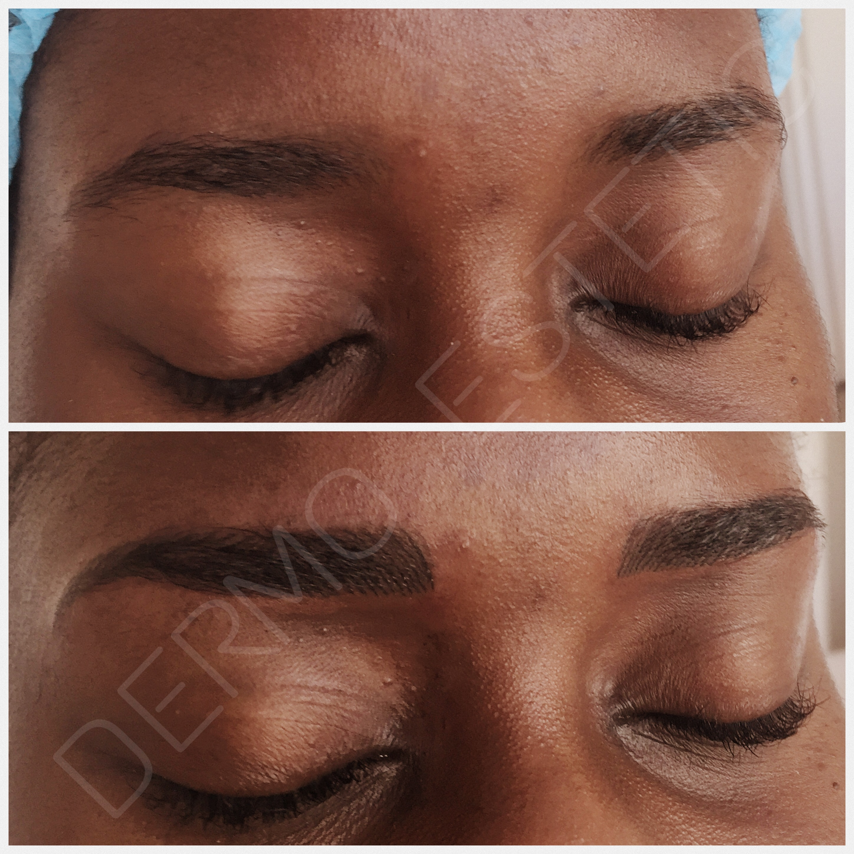 maquillage permanent poil à poil
