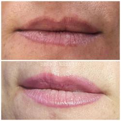 Maquillage permanent bouche intégral