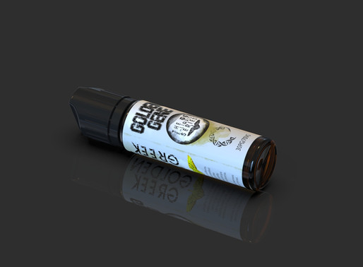 """Golden Gene"" flavorshot and shortfill liquid by Golden Greek"