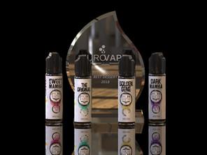 Vaping liquids (award-winning e-liquids) by Golden Greek atomizers and mods