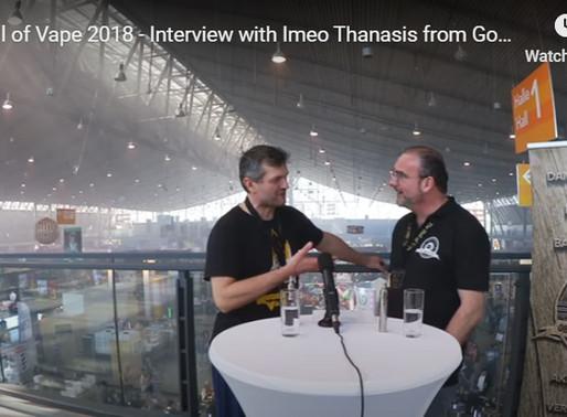 Golden Greek and Imeothanasis with Dirk Oberhaus at Stuttgart vapefest, May 2018