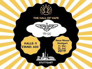 Golden Greek and Imeothanasis at Stuttgart vapexpo 2019