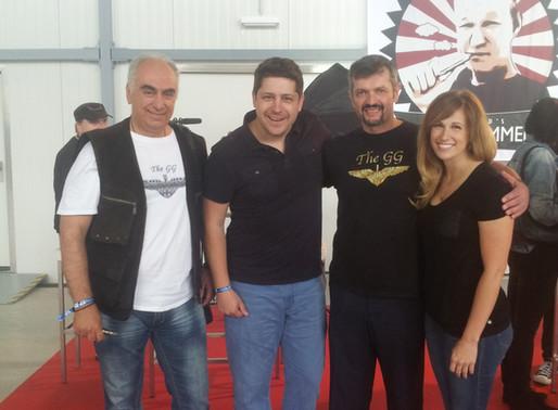 Golden Greek and Imeothanasis at Austria vape festival with friends, June 2016