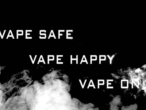 About Safety of Vaping (by Golden Greek)