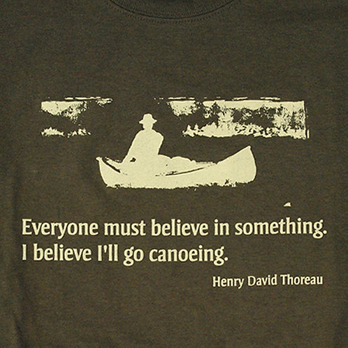 Believe I'll go Canoeing