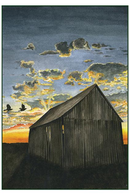Marsh Barn Sunrise