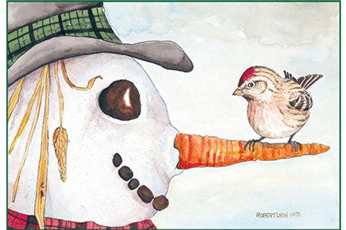 Snowman & Redpoll
