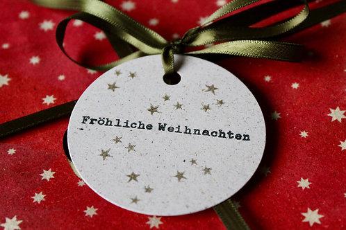 Geschenkanhänger Weihnachten (8 Stk.)