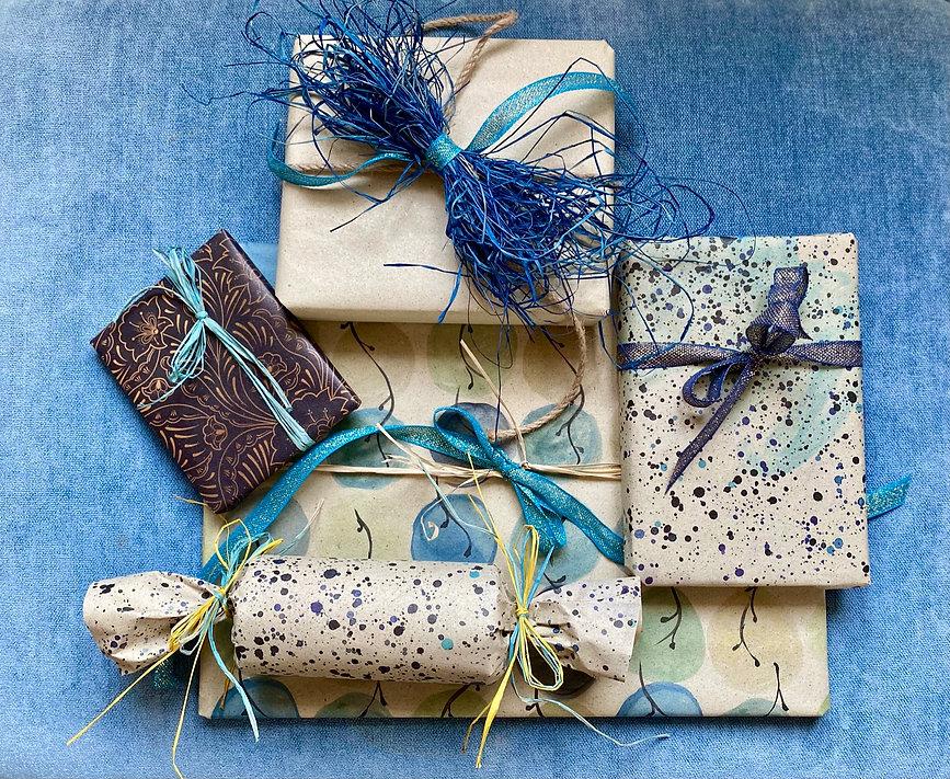 Recycling geschenkpapier