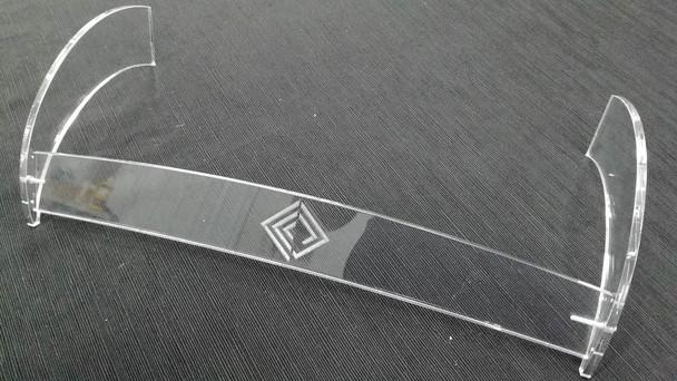 Plexiglass engraving