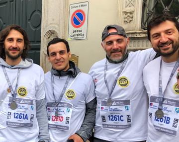 L'Associazione Amici di Andrea corre alla 19.a 'Generali Milano Marathon'