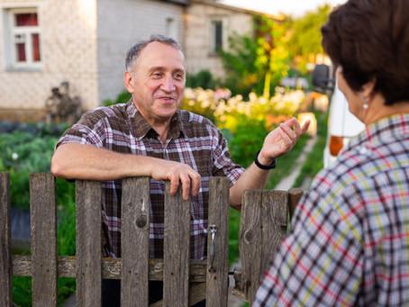Do Fences Make Good Neighbors or Do Good Neighbors Provide Peace of Mind?