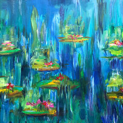 Waterlilies $150.00