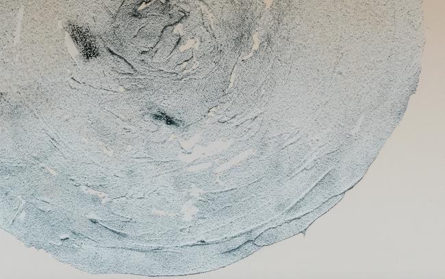 """Shapes & Spheres"" Large sand circle n.1"