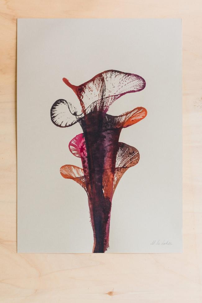Wabi Sabi, art ink on paper