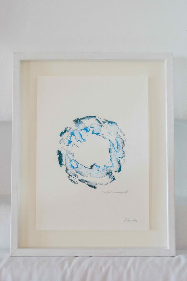 """Shapes & Spheres"" sand circle. ""infinite movement"" n.2"