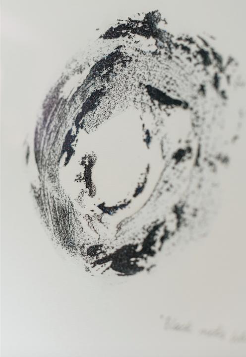 """Shapes & Spheres"" small sand circle n.5"