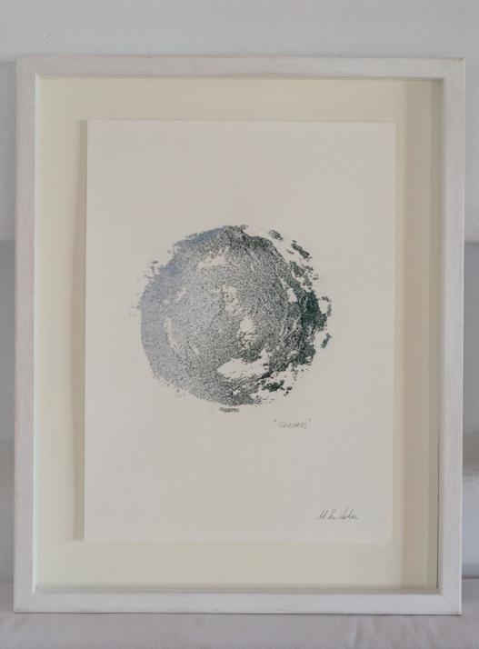 """Shapes & Spheres"" small sand circle n.4"