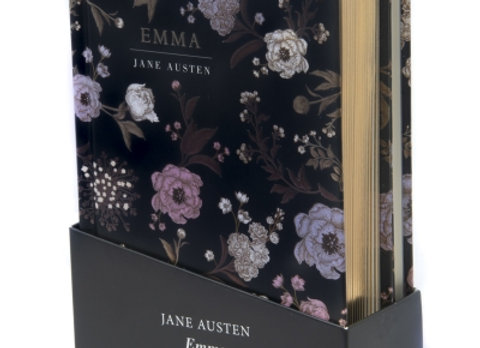 Jane Austins Emma, novel and matching notebook