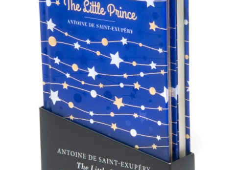 The Little Prince - Classic novel and notebook set