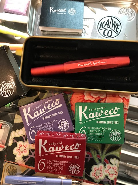 #kaweco red AL-sport in tin and ink.jpg