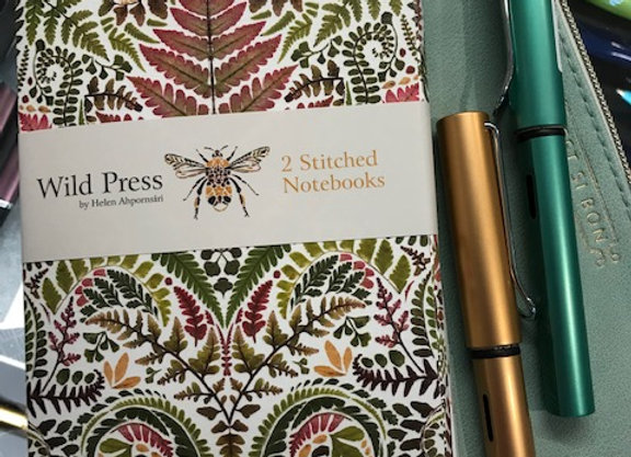 Wild Press Stitched Notebook set of two. Pen not included.