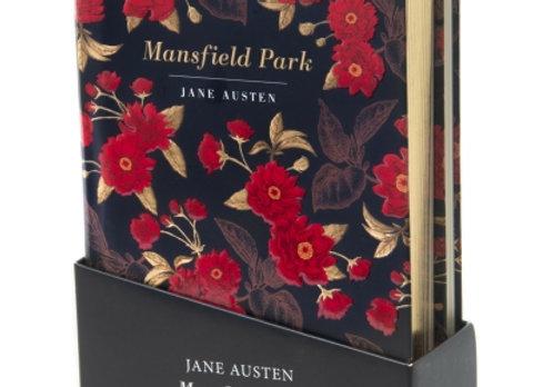 Jane Austins Mansfield Park, novel and notebook set.