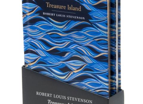 Treasure Island novel and notebook box set