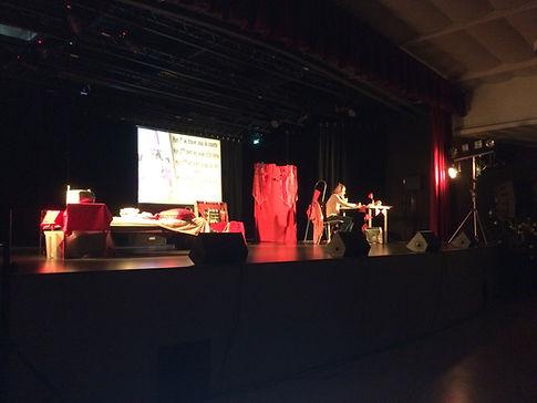 sonorisation spectacle theatre la regie